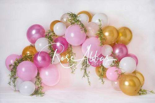 Katebackdrop:Kate Children Colorful Balloons Decoration Backdrop Designed By Rose Abbas