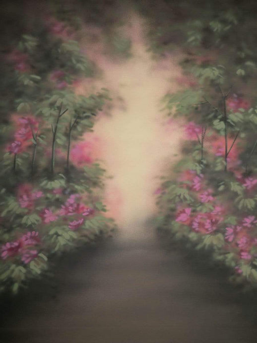 Katebackdrop£ºKate Hand Painted Flowers Fantasy Forest Spray Painted Backdrops