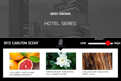 Musi Aroma - Hotel Series Essential Oil Scents