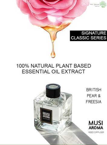 MUSI AROMA - British Pear & Freesia Scent - Signature Classic Series