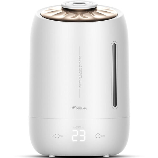 Original Deerma Household Air Humidifier Air Purifying Mist Maker Timing With Intelligent Touch Screen Adjustable Fog Quantity