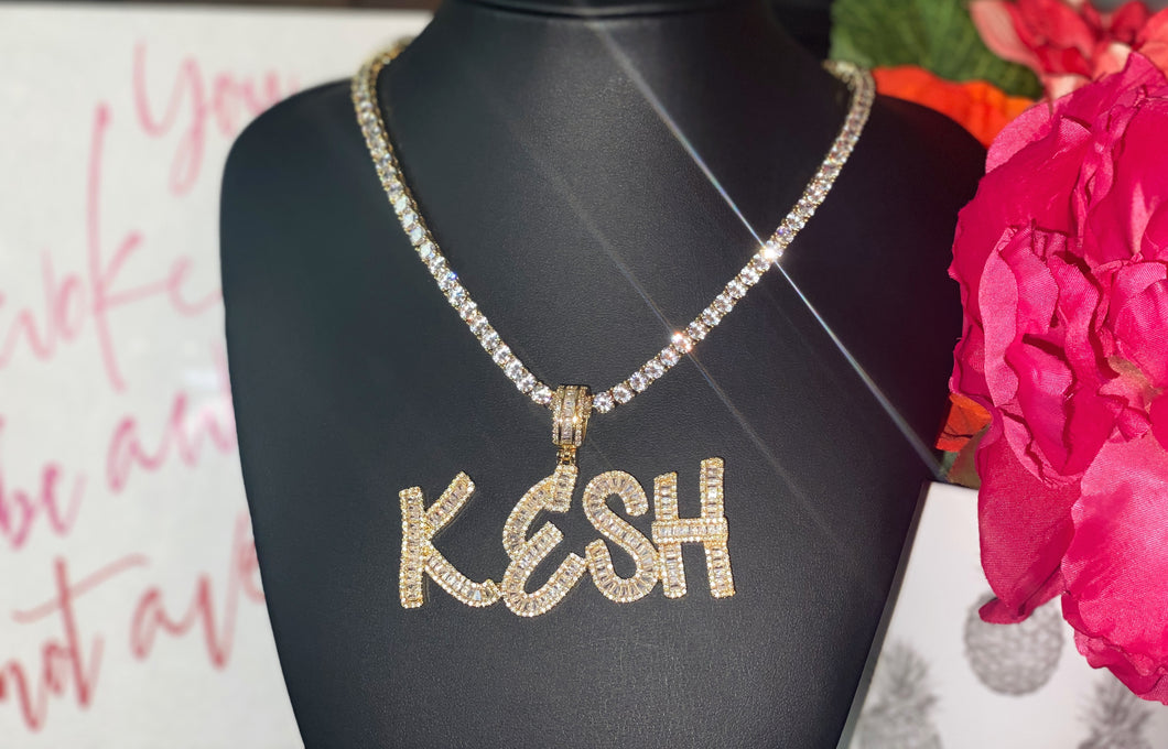 """ICEYY"" Tennis Chain"