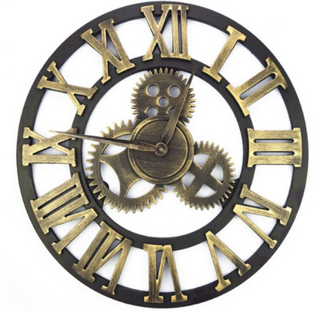 Horloge Industrielle engrenage XL