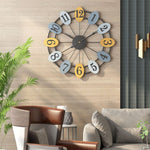 horloge industrielle design