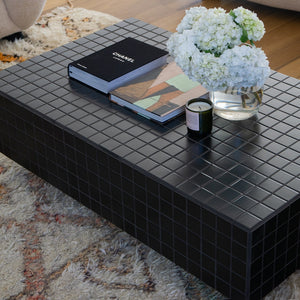 Butter Rectangle Floating Coffee Table
