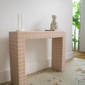 Petite Palm Credenza Table
