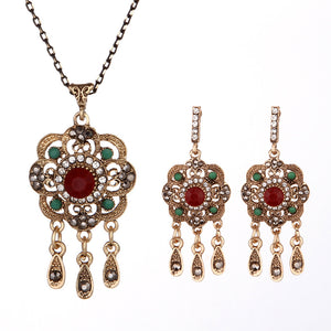 Indian inspired jewellery - boho jewellery