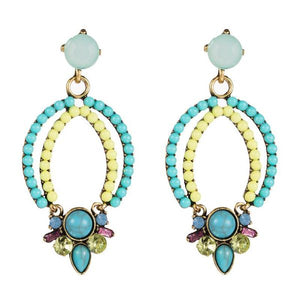 Multi-Colour Drop Earrings