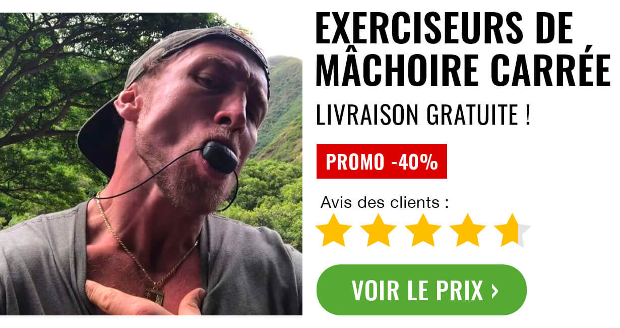 muscler machoire carree