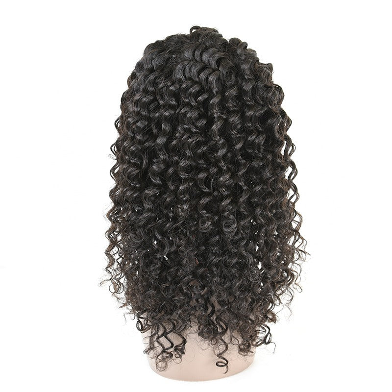 Enhanceher 13x4 HD lace Frontal Deep Curly Wig