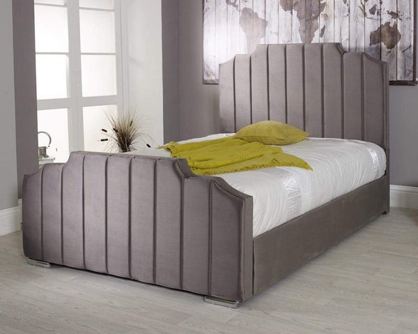 Notting Finer Upholstered Sleigh Bed Frame
