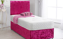 "Divan Bed Frame With 24"" Padded Headboard"