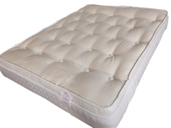 Snooze Organic Pillow Top Mattress With Natural Fillings - Available on Finance
