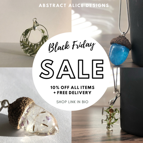 Abstract Alice Designs Black Friday Flyer