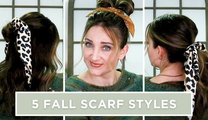 5 Scarf Styles