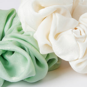 Satin Scrunchie Mint