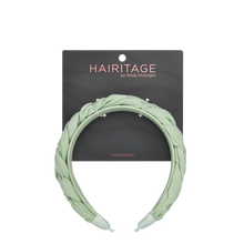Load image into Gallery viewer, Braided Headband Mint