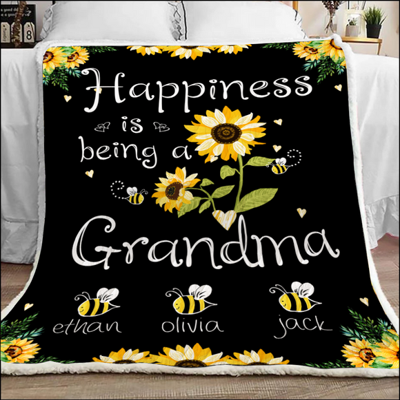 Happiness Is Being A Grandma With Grandkids
