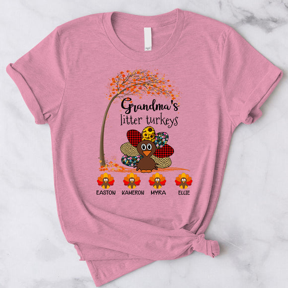 Grandma Little Turkeys