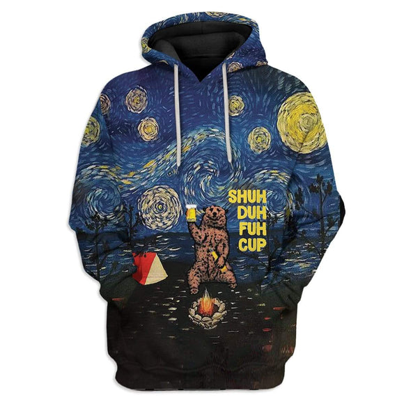 Shopcoolpod 3D Custom Shuh Duh Fuh Cup Starry Night Camping