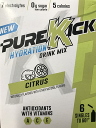 Pure Kick Citrus Singles To Go