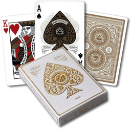 Theory 11 White Artisans Playing Cards