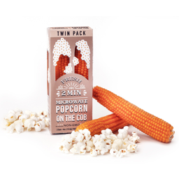 Wabash Fresh Microwave Popcorn on The Cob Twin Pack