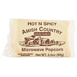 Amish Country Hot & Spicy Microwave Popcorn