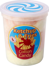 Ketchup&Fries Cotton Candy