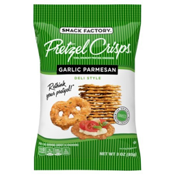 Garlic Parmesan Pretzel Chips