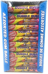 Dubble Bubble Assorted Gum Balls 6 Pack