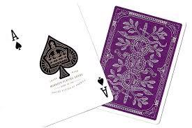 Bicycle Theory 11 Purple Monarchs Playing Cards