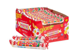 Giant Smarties Candy Roll