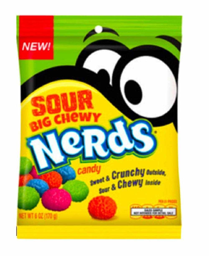 Nerds Sour Big Chewy 170g