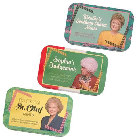 The Golden Girls Stay Golden Mints (Sold Seperately)