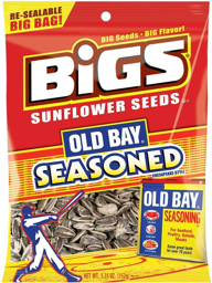 Bigs Old Bay Seasoned Sunflower Seeds