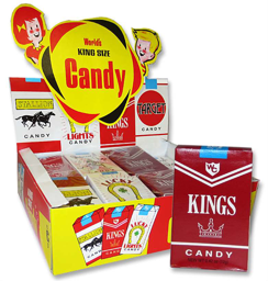 Worlds King Size Candy Sticks