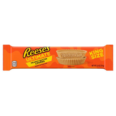 Reeses Ultimate Peanut Butter Lovers King Size