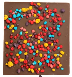 Nerds Milk Bark Bar