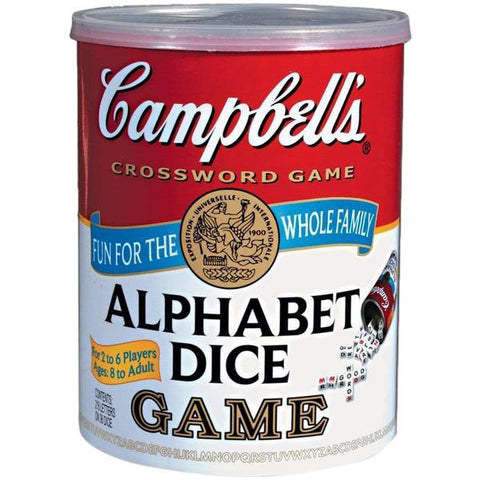 Campbells Alphabet Dice Game