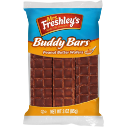 Mrs Freshley's Buddy Bars Peanut Butter Wafers