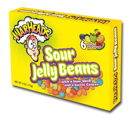 Warhead Sour Jelly Beans TB