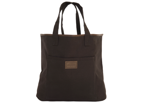 Tote Bag with leather trim