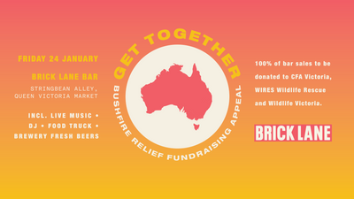 Get Together – Bushfire Relief Fundraising Appeal