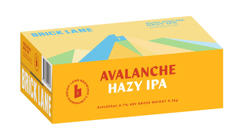 Avalanche Hazy IPA - Summer Release