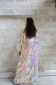 Robe longue à sequins Adama Paris