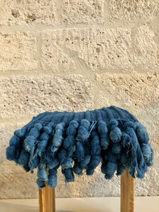Tapis bleu indigo made in mali