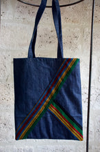 Load image into Gallery viewer, Sac tote bag en jean Adama Paris