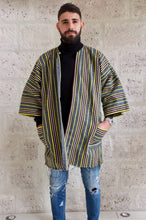 Load image into Gallery viewer, Fugu kimono cardigan made in ghana