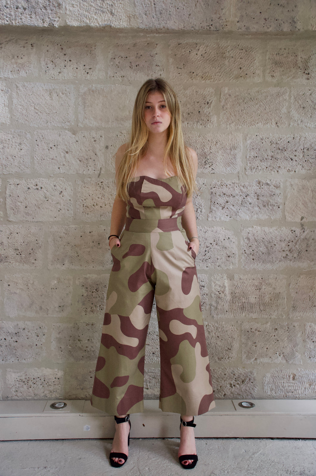 Pantalon large militaire Adama Paris